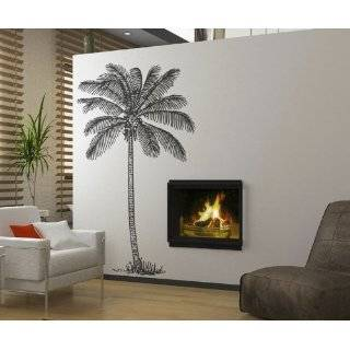 Vinyl Wall Art Decal Sticker Palm Tree Big 38 X 72