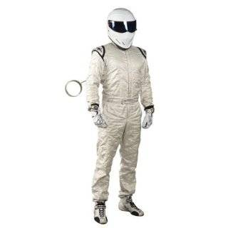 The Stig Race Suit Fancy Dress Costume & Helmet   MEDIUM