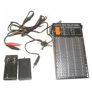 9 Watt 12 Volt 500 mA Portable Solar Power Panel Battery