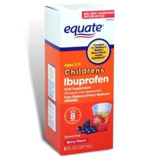 Equate Childrens Ibuprofen Pain Reliever / Fever Reducer, Oral