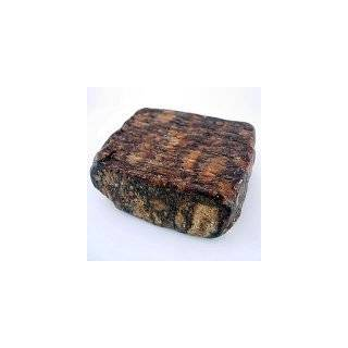 Raw African Shea Butter Black Soap from Ghana   1 Lb