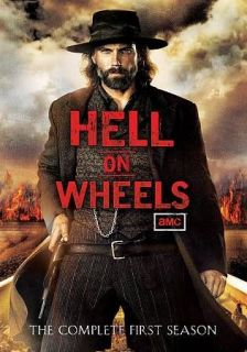 Hell on Wheels Season 1 DVD, 2012, 3 Disc Set