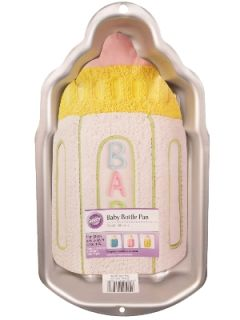 New Wilton Baby Bottle Cake Pan Shower Birthday Party