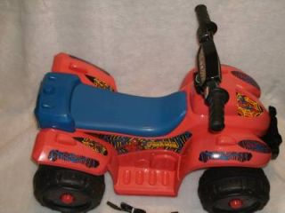 Awesome Spiderman Power Wheels Lil' Quad 6 Volt Battery Powered Ride On