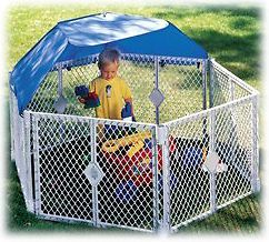 Superyard XT Gate Play Yard Baby Pet Sun Shade Accessory