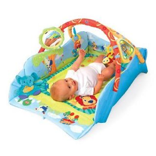 Bright Starts Baby's Play Place Deluxe Development Activity Center Gym Play Mat