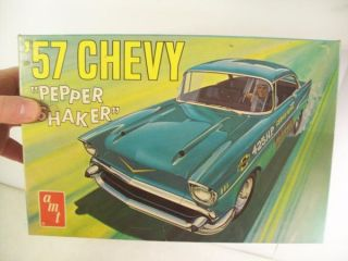 '57 Chevy Bel Air Pepper Shaker Vintage AMT Hot Rod Muscle Car Model Kit