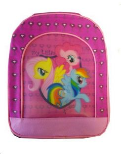 "My Little Pony Toddler Kids Travel Preschool Pink 11"" Mini Backpack Bag New 3"