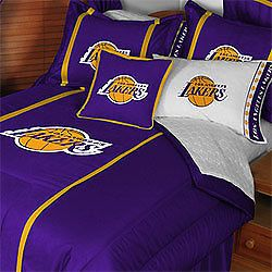 4pc NBA Los Angeles Lakers Basketball Twin Bedding Set