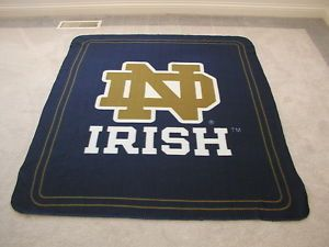 Notre Dame Fleece Blanket Throw Keychain