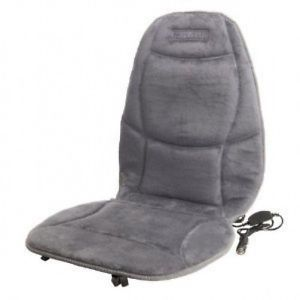 Heated Seat Cushion with Lumbar Support Auto Seat Warmer 12V Car Seat Heater