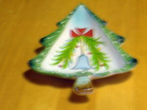 Holt Howard 1959 Christmas Tree Shape Candy Dish