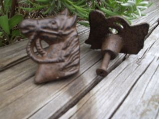 Cast Iron Horse Head Cabinet Knob Drawer Pull Western