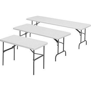Iceberg 1200 Series Heavy Duty Commercial Grade Indestruc Tables Too™ Resin Folding Banquet Tables