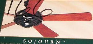 "Hunter Sojourn 5 Blade 52 "" Ceiling Fan with Reversible Blade"