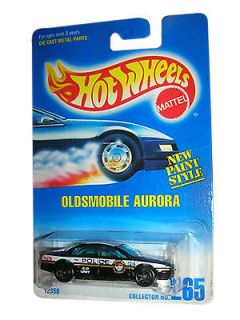 Hot Wheels Oldsmobile Aurora Police Car Diecast Car