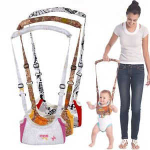 Baby Toddler Kids Keeper Walking Assistant Safety Harness Walker Strap Rein Belt