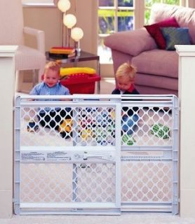 Large Supergate Pet Child Dog Gate Safety Extra Wide Swing Baby Child Walk New