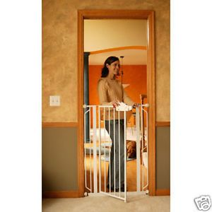 Regalo Easy Step Extra Tall Walk thru Baby Pet Child Safety Gate New 1166