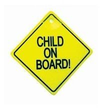 Child on Board Safety Sign Car Vehicle with Suction Cup for Window Back Baby
