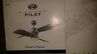 Hampton Bay Pilot Ceiling Fan