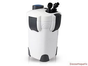 75 Gallon Aquarium Fish Tank External Canister Filter Media Kits Self Priming