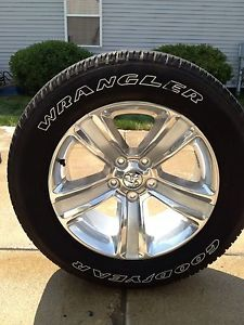 "09 13 Dodge RAM 1500 Factory 20"" Wheels Tires Durango Rims 275 60 20"