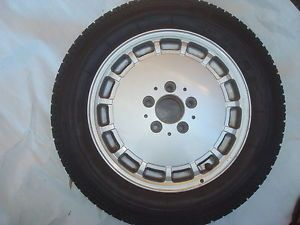 Mercedes W124 Spare Alloy Wheel Rim Tire 1244010702 6 5JX15H2 195 65 15