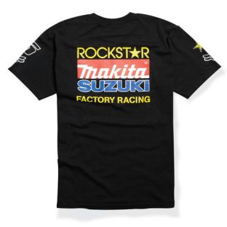 Fox Racing Rockstar Suzuki Factory Dungey T Shirt Tee