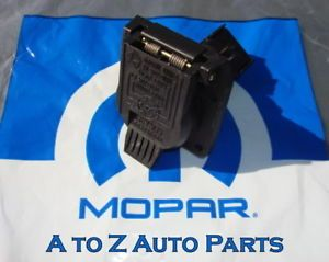 New Dodge RAM Dakota Durango Jeep etc 7 Pin Trailer Plug Connector OEM Mopar