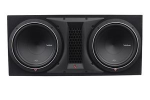 "Rockford Fosgate Punch P1 2x12 Dual 12"" 1000W Loaded Subwoofer Sub Enclosure Box"