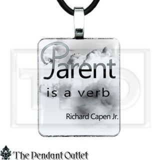 Parent Parenting Kid Children Mom Daughter Son Mother Dad Charm Pendant Necklace