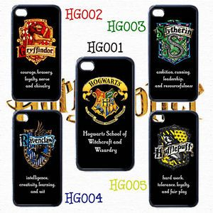Hogwarts School Harry Potter iPhone 4 Black Case