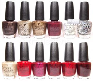 OPI Nail Polish Lacquer Mariah Carey Holiday Collection 2013 Variety E05 E22