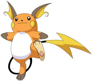 Choose Size Raichu Pokemon Decal Removable Wall Sticker Home Decor Art Kids