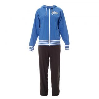 Nike Ladies Tracksuit Woven Jog Suit Hooded Womens Gym Top Pant Blue Grey M L XL