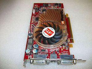 ATI FireGL V5100 Dual Monitor DVI 128MB PCI E Graphics Video Card PCI Express