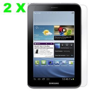 "2X Anti Glare Matte Screen Protector Film Samsung Galaxy Tab 2 7"" Tablet P3100"