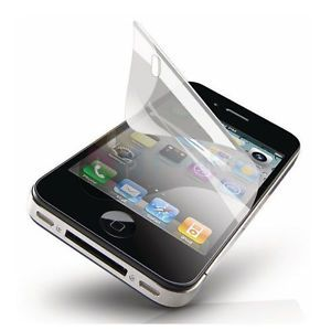 2X Anti Glare Fingerprint Screen Protector for iPhone 4 4S White Black 16GB 32GB