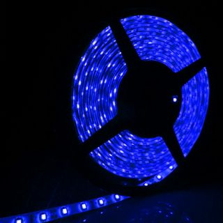 Waterproof 5M 16ft 300 LED 5050 SMD Flexible LED Light Strip 12V Blue