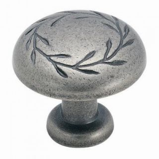 Amerock Inspirations Weathered Nickel Leaf Cabinet Hardware Handles Pulls Knobs