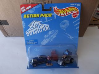 "Hot Wheels Action Pack ""Home Improvement"" It's Tool Time 1996 NIP 074299161469"