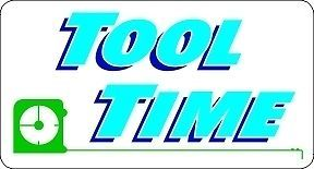 "Tool Time ""Home Improvement"" Sticker Decal Sign 4""X2 1"""