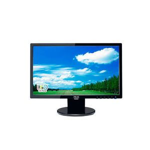 "Asus VE198T 19"" Widescreen 5ms 10000000 1 VGA DVI LED LCD Monitor w Speaker New 0610839329175"