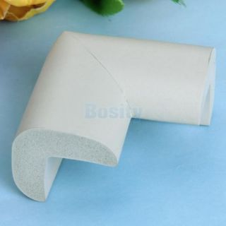 Grey Baby Kid Safety Desk Shelf Edge Protector Table Corner Cushion Protector