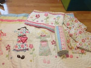 Pottery Barn Kids Girls Twin Bedding