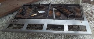 "5' x 2' Gas Grill Range Commercial Stove Griddle Restaurant Equipment 60"" x 24"""