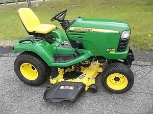 "John Deere X728 Tractor Lawn Tractor with 54"" Mower Deck 4x4 Only 300 Hours"