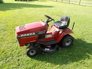 "Honda HT3813 Riding Lawn Mower Tractor 13HP Liquid Cooled Twin 38"" Cut"