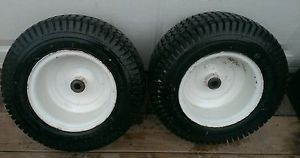 Cub Cadet Tractor 149 Wheels and Tires Pulling Lawn Garden Parts
